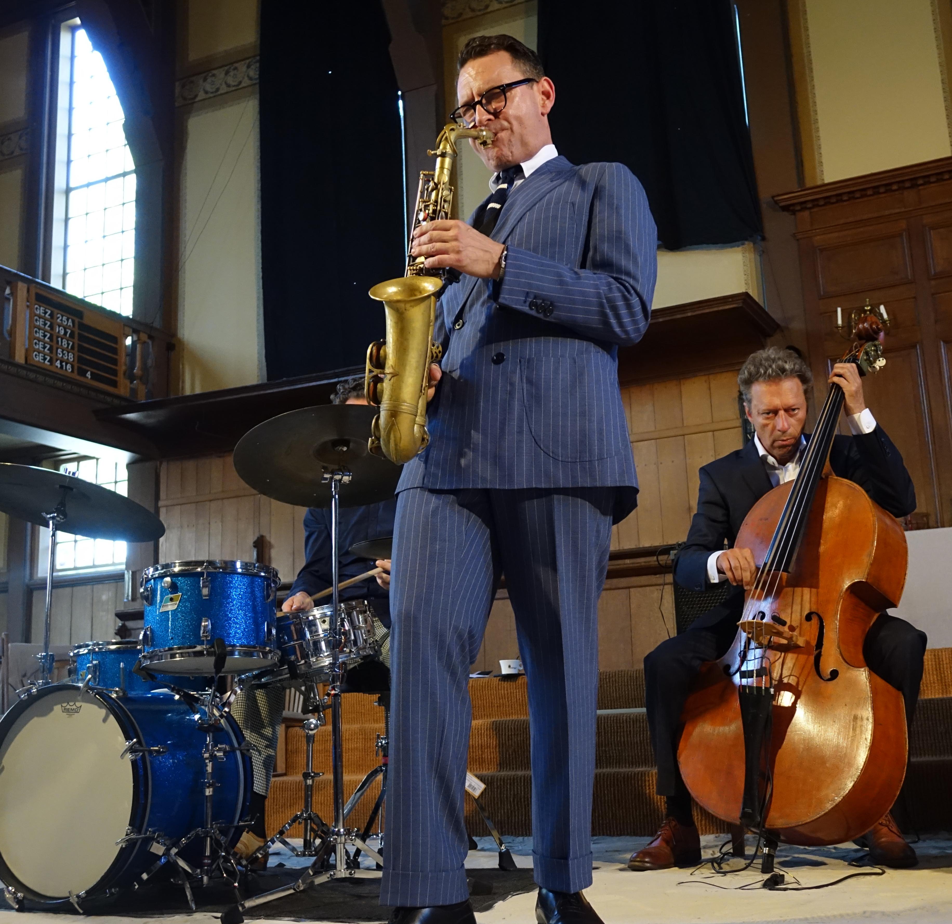 20180603 (15) Benjamin Herman Quartet _ Benjamin Herman, Ernst Glerum